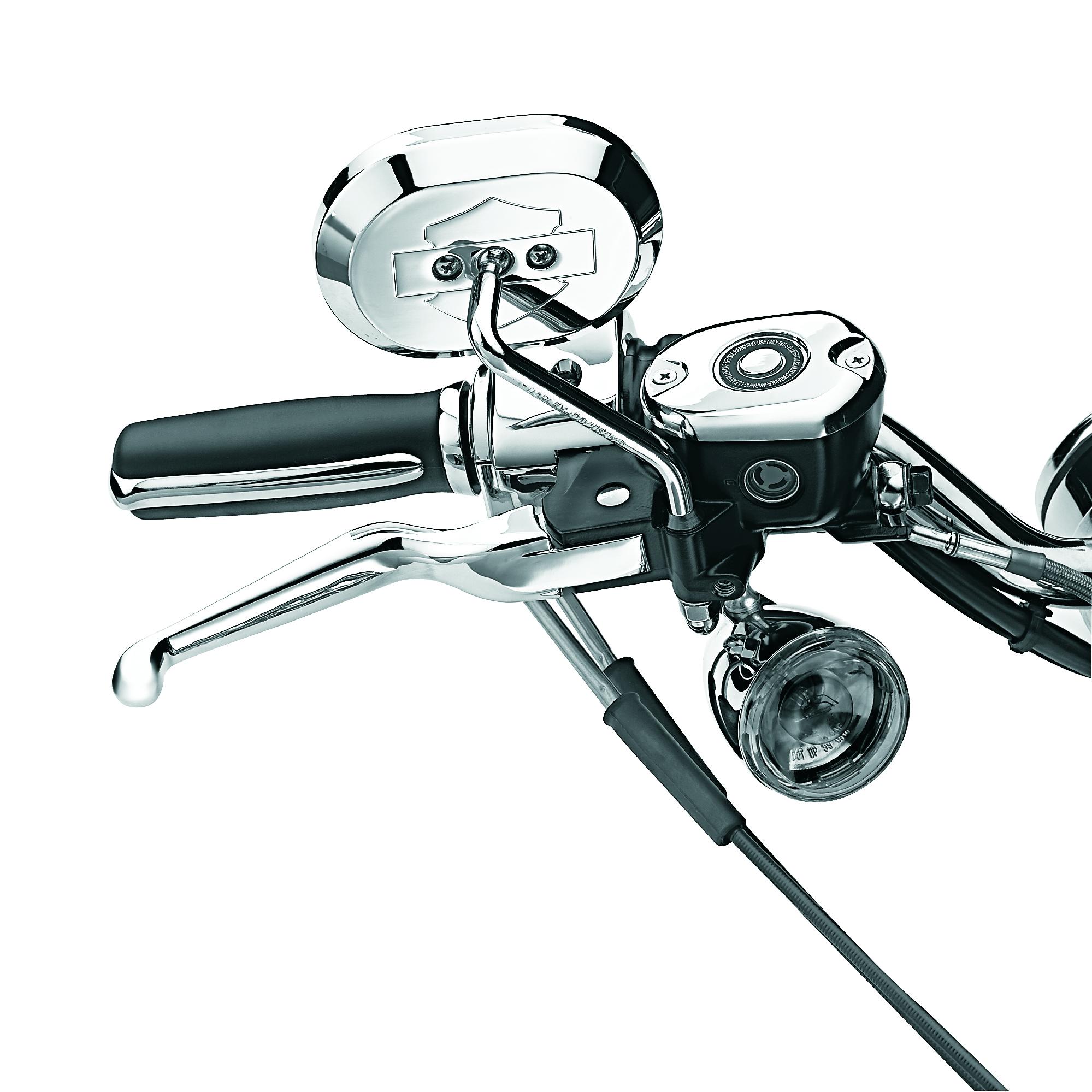 Harley-Davidson® Chrome Hand Control Lever Kit 45075-07