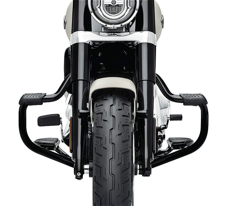 Harley-Davidson® Mustache Engine Guard | '18-Later Milwaukee-Eight® Softail® | Gloss Black