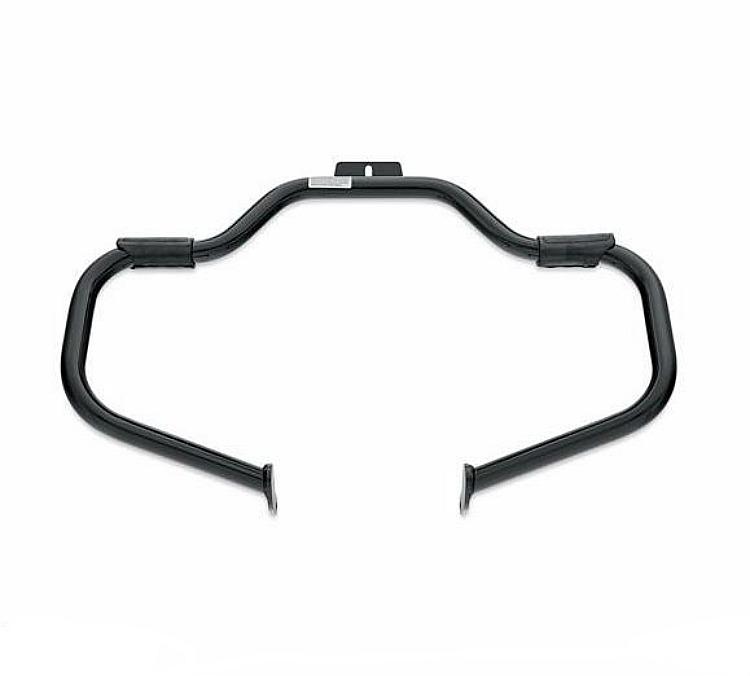 Harley-Davidson® Mustache Engine Guard - Softail® - Gloss Black