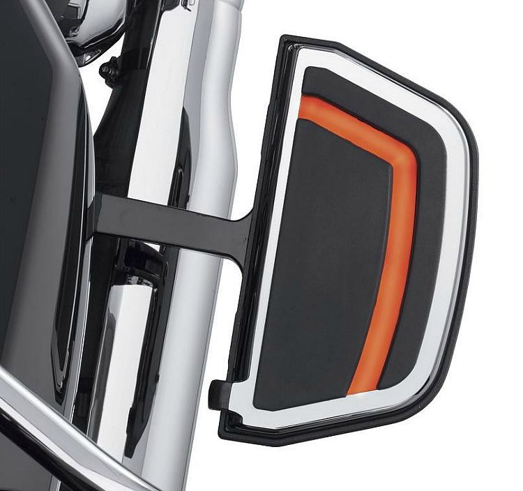 Harley-Davidson® Spectra Glo™ Passenger Footboard Inserts