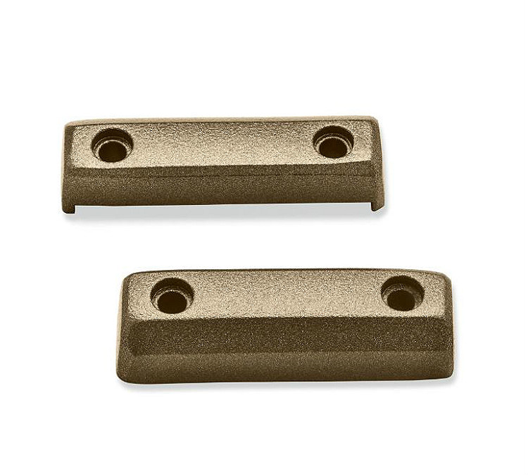 Harley-Davidson® Dominion™ Collection | Footpeg Trim Pieces | Bronze