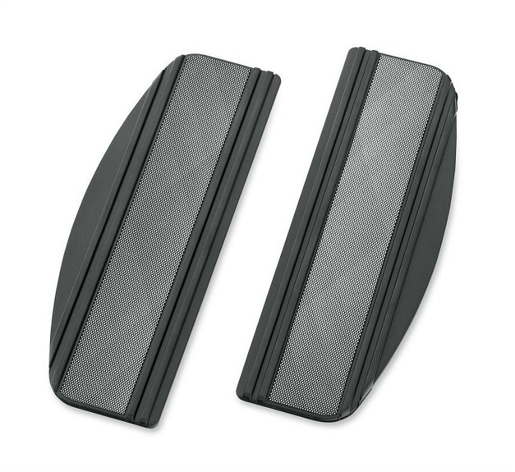 Harley-Davidson® Footboard Insert Kit   Diamond Black Collection   Rider