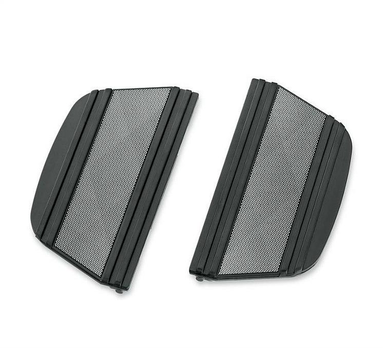 Harley-Davidson® Footboard Insert Kit | Diamond Black Collection | Passenger
