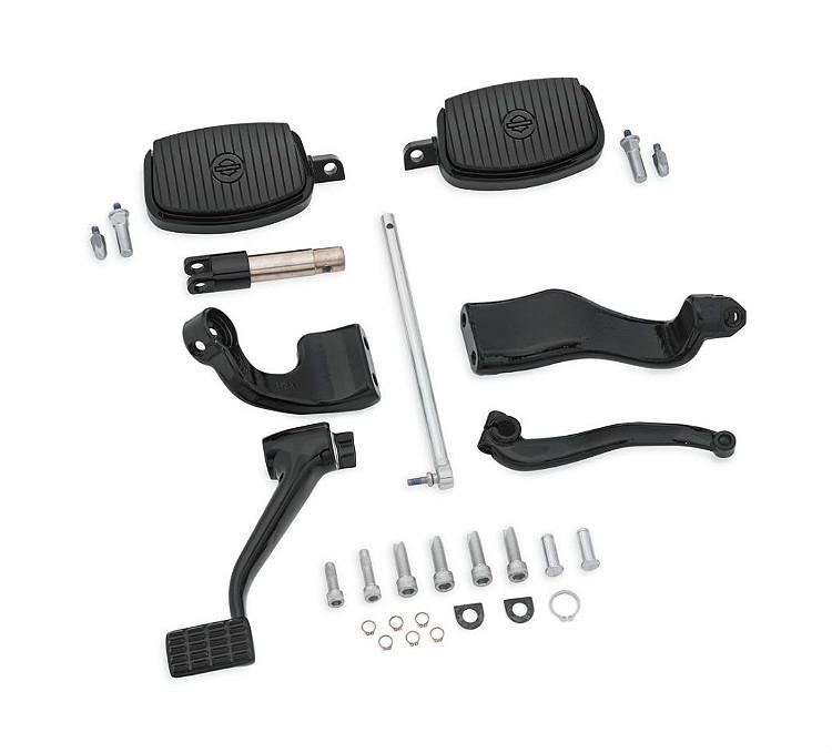 Harley-Davidson® Further Forward Mid-Control Kit - Gloss Black
