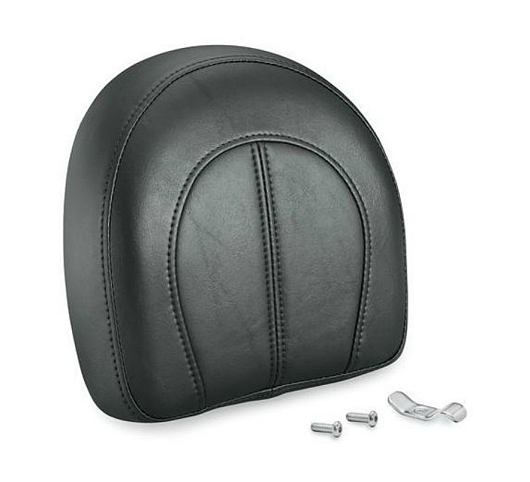 Harley-Davidson® Backrest Pad for Softail® One-Piece Sissy Bar Upright - Tall