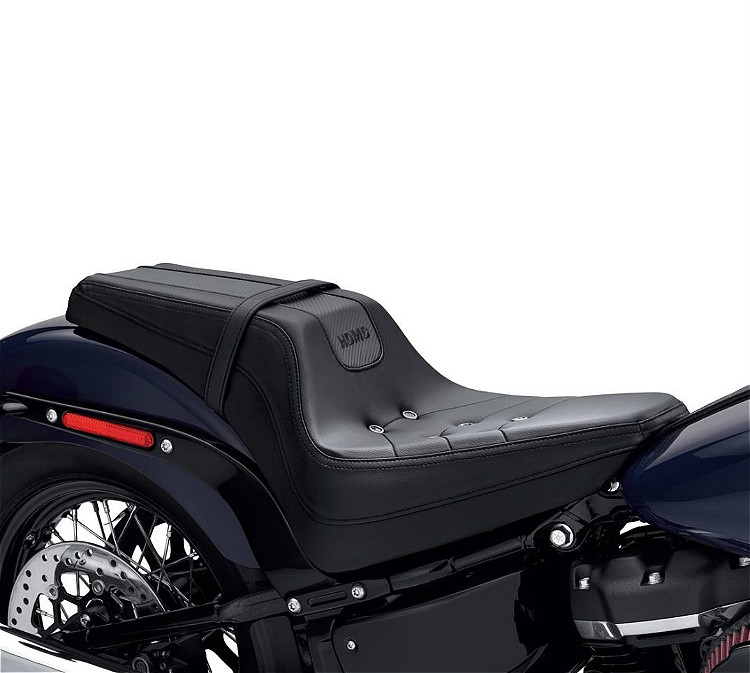 Harley-Davidson® Bevel Two-up Seat   '18-Later Milwaukee-Eight® Softail®   Black
