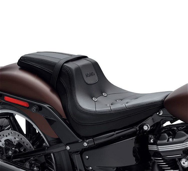 Harley-Davidson® Bevel Two-up Seat | '18-Later Milwaukee-Eight® Breakout® | Black