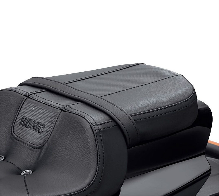 Harley-Davidson® Bevel Passenger Pillion Seat | '19-Later FXDRS™ 114 Styling | Black