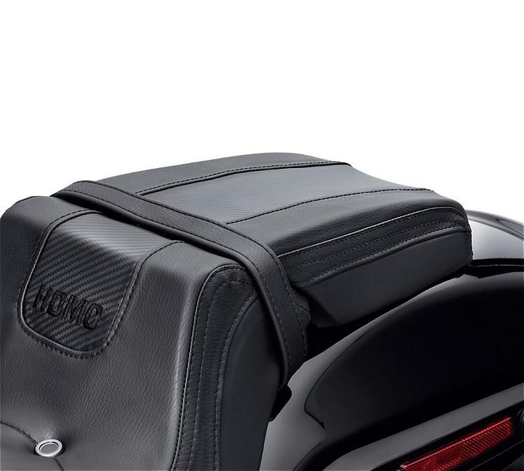 Harley-Davidson® Bevel Passenger Pillion Seat | '18-Later FXFB Fat Bob™ Styling | Black