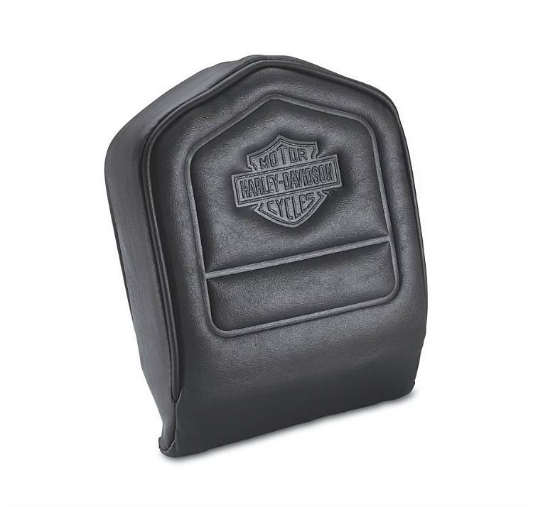 Harley-Davidson® Backrest Pad | Embossed Bar & Shield®
