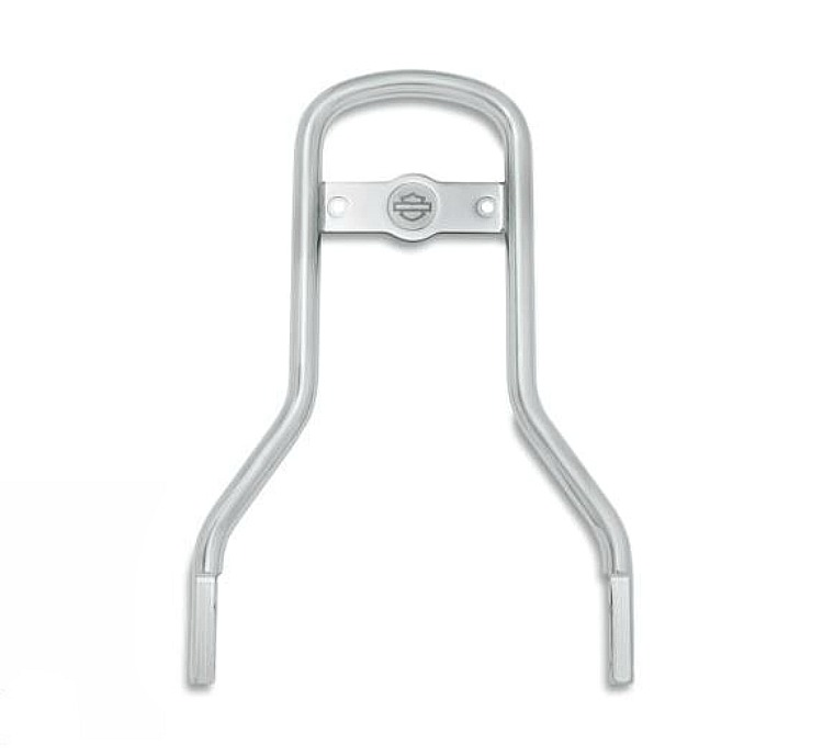 Harley-Davidson® Standard Round Bar Sissy Bar Upright  - Chrome
