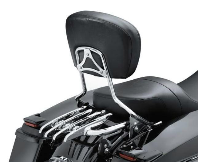 Harley-Davidson® Stealth Detachable Luggage Rack - Chrome