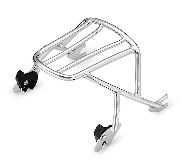 Harley-Davidson® Detachables™ Solo Rack | Chrome | Sportster®