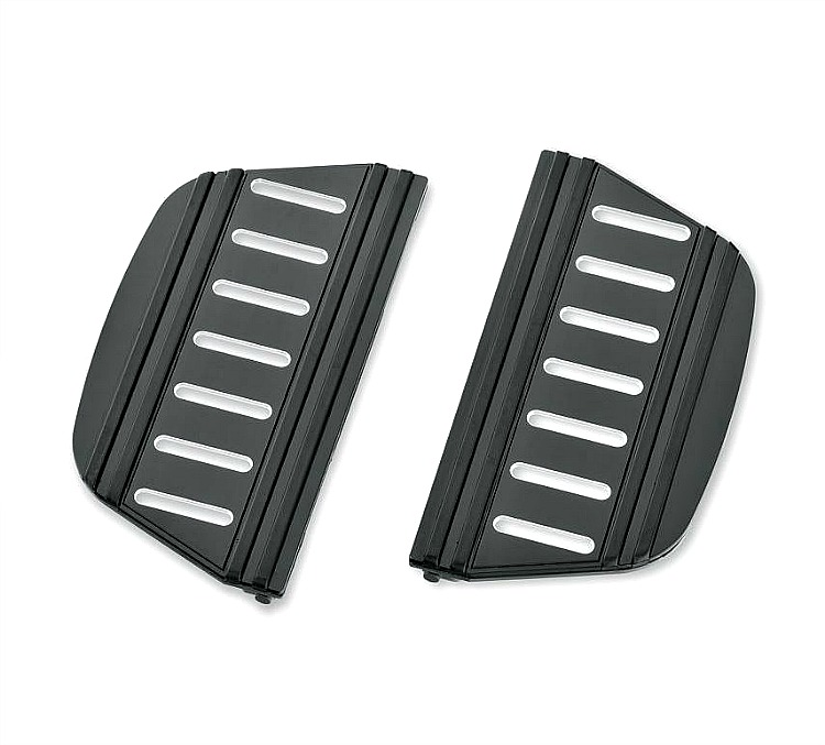 Harley-Davidson® Edge Cut Collection | Passenger Footboard Insert Kit | Traditional Shape