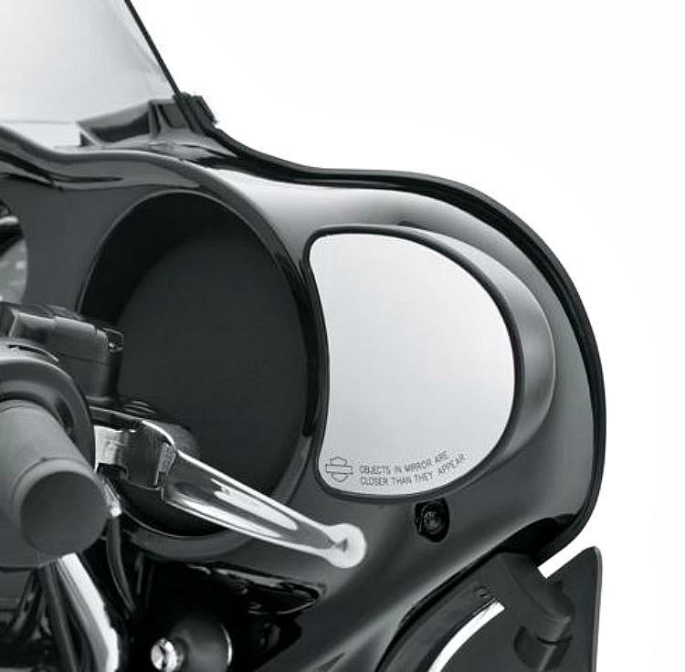 Harley-Davidson® Mirrors | Fairing Mount in Black '14-later