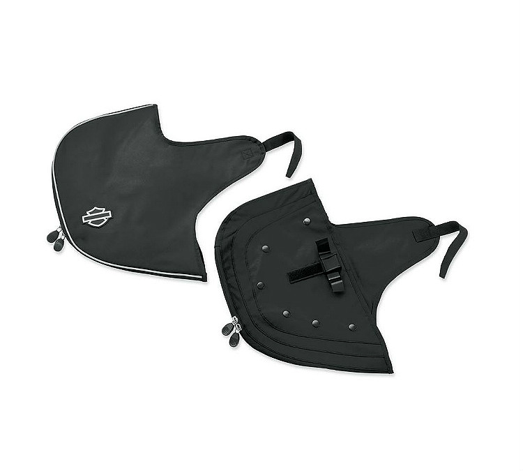 Harley-Davidson® Engine Guard Soft Lowers Covers   '18-Later Milwaukee-Eight® Softail®