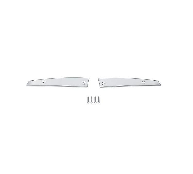 Harley-Davidson® '15-Later Road Glide® Windshield Side Trim | Chrome Billet