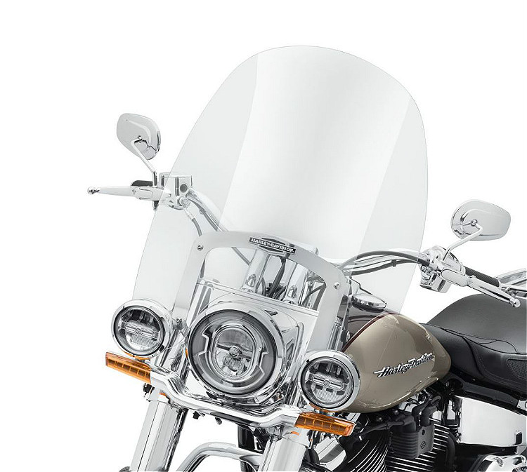 "Harley-Davidson® Milwaukee-Eight® King-Size Nostalgic H-D® Detachables™ | 21"" Windshield 