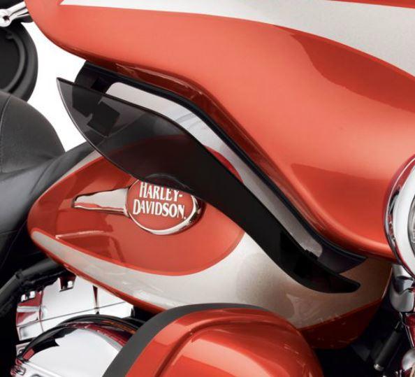 Harley-Davidson® Adjustable Air Deflector Kit Dark Smoke