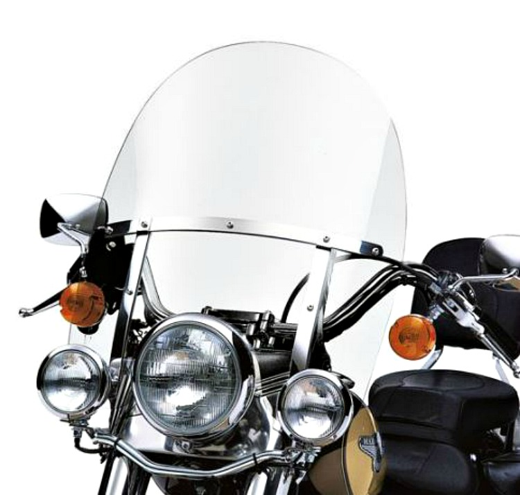 Harley Davidson Windshields >> Harley Davidson Fl Softail Detachables 21 Inch Windshield Clear Polished Braces 58240 95