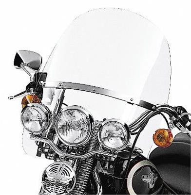 Harley-Davidson® H-D Detachables™ Windshield for Heritage Springer™ Clear