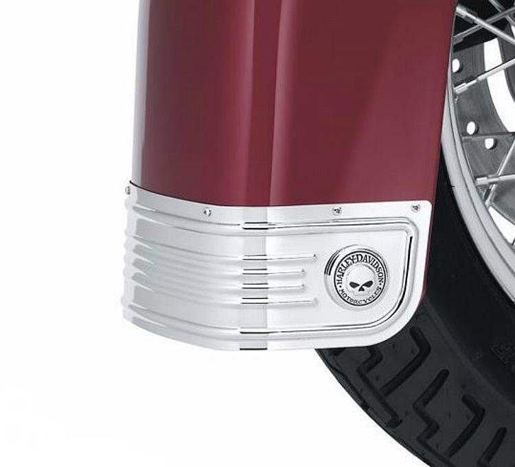 Harley-Davidson® Willie G® Skull Chrome Collection | Fender Skirt Kit