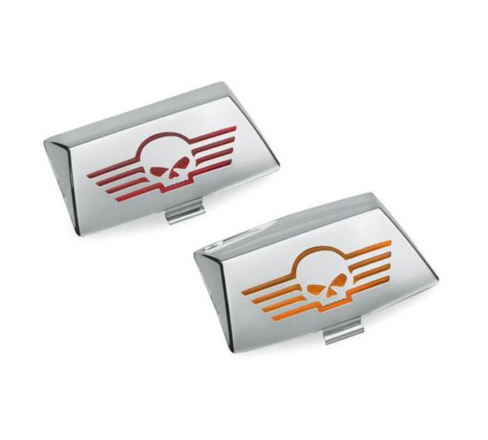 Harley-Davidson® Willie G® Skull Chrome Collection | Fender Tip Lens Kit