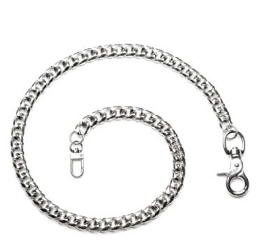 "Hair Glove Men's Single Row Wallet Chain | Stainless Steel | 22"" Chain"