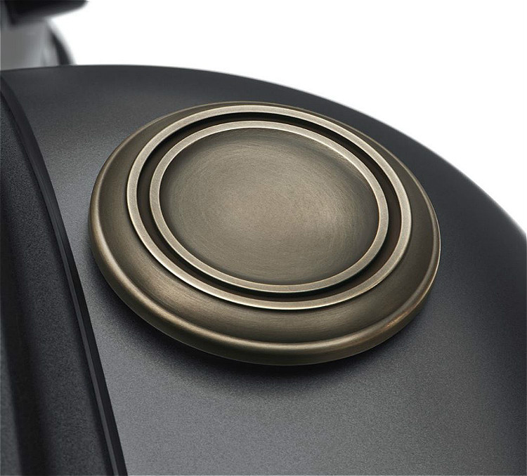 Harley-Davidson® Brass Collection | Custom Right Side Fuel Tank Cap