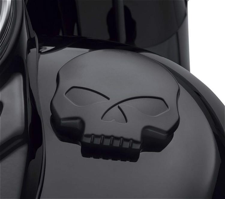 Harley-Davidson® Willie G Skull Black Fuel Cap