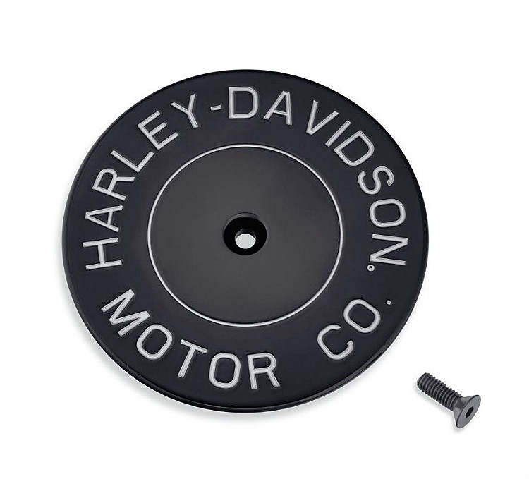 Harley-Davidson® H-D Motor Co. Black Collection | Air Cleaner Trim | Gloss Black