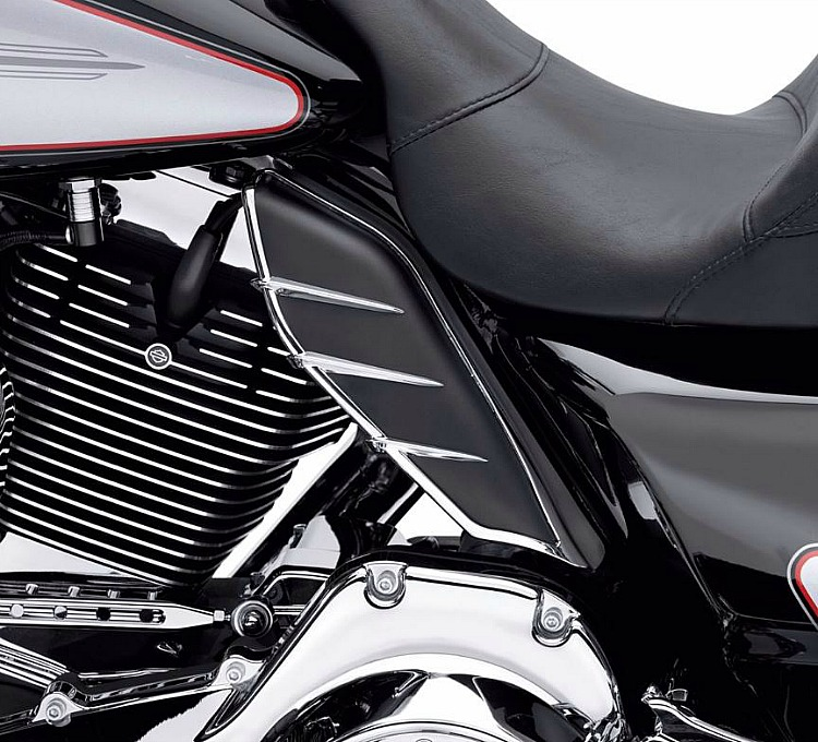 Harley-Davidson® Mid Frame Air Deflector Trim
