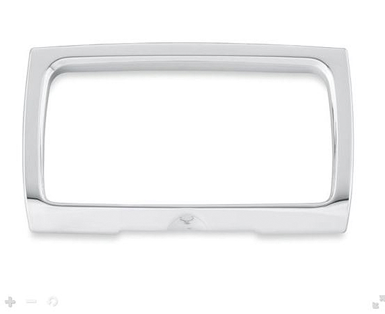 Harley-Davidson® Radio Trim Bezel | Chrome