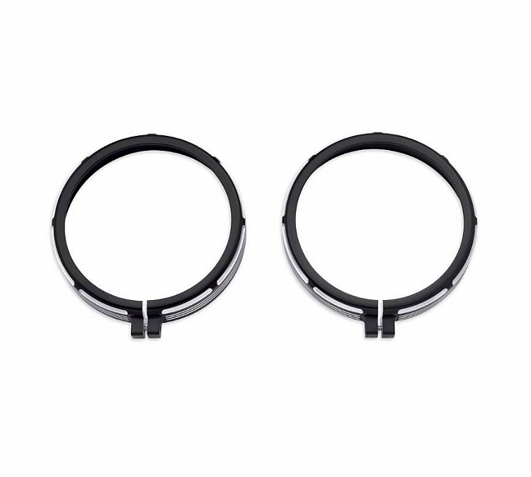 Harley-Davidson® Passing Lamp Trim Ring | Burst