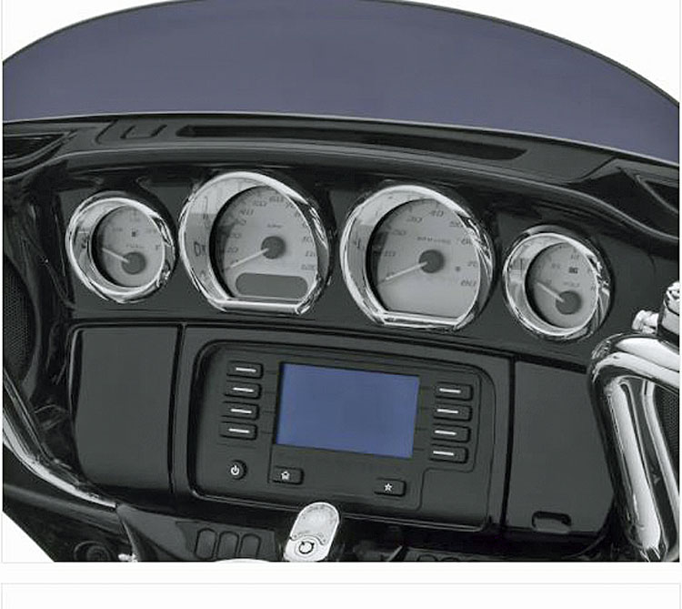 Harley-Davidson® Gauge Trim Kit