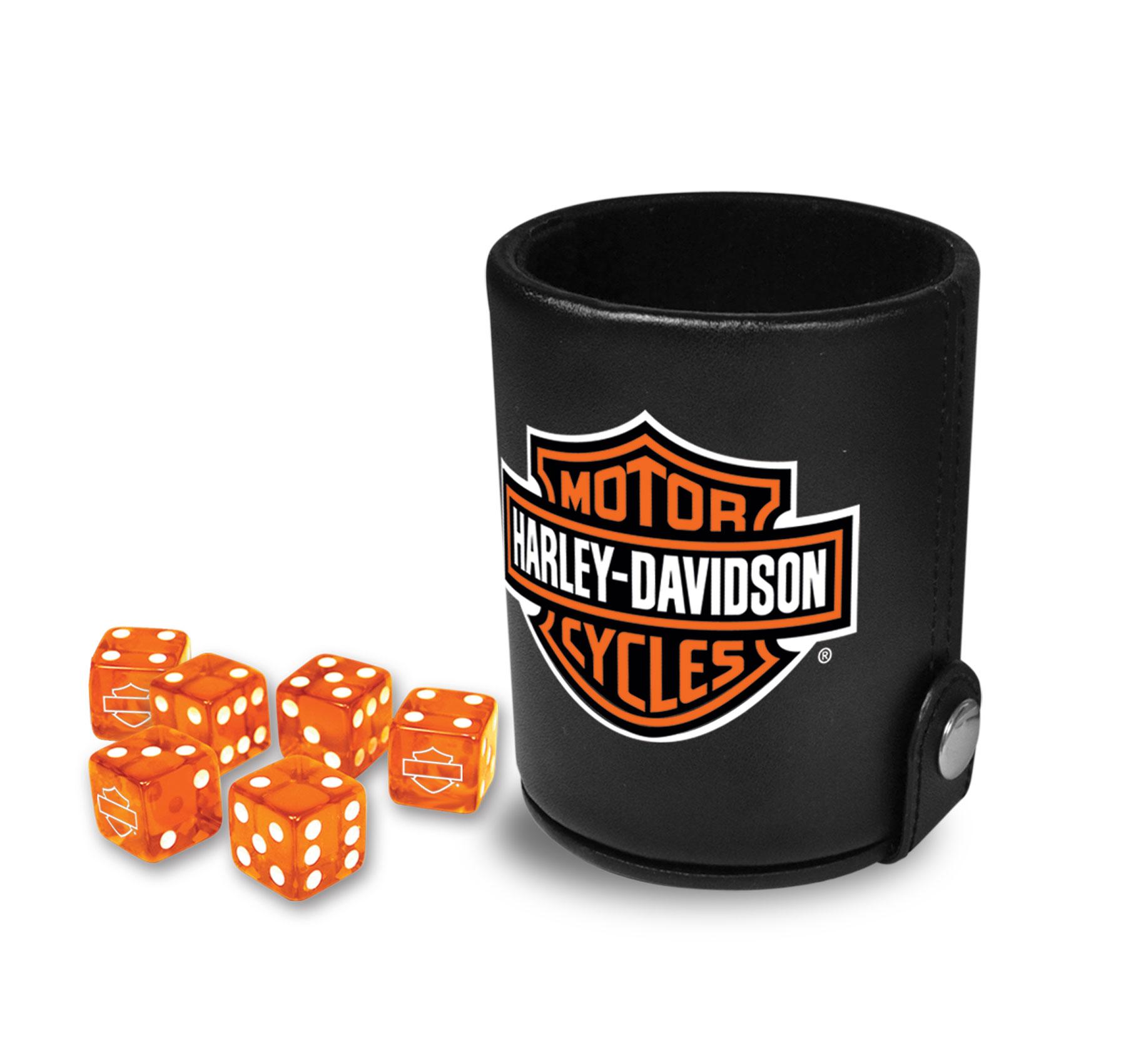 Harley-Davidson® Bar & Shield® Dice Cup with Dice