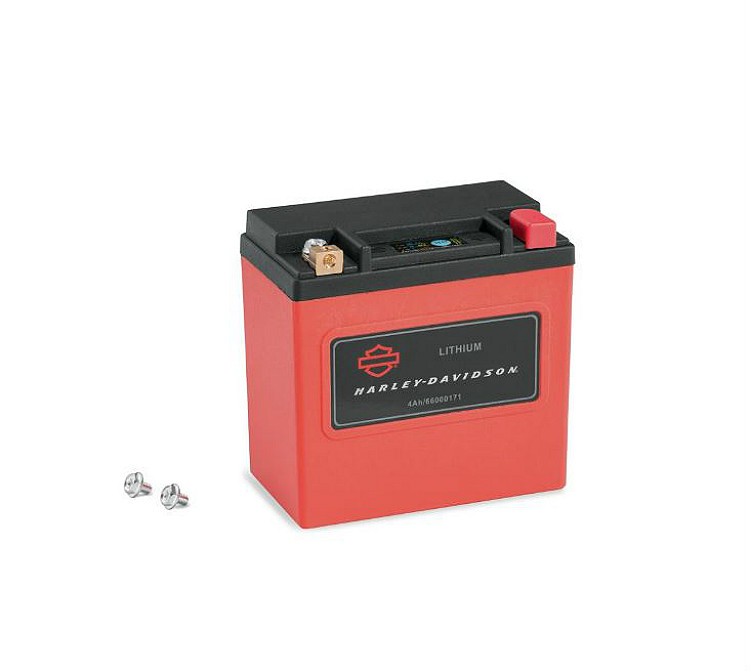 Harley-Davidson® Lithium LiFe 4Ah Motorcycle Battery | California