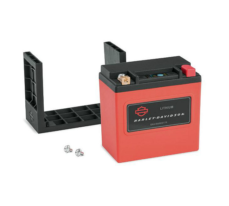 Harley-Davidson® Lithium LiFe 6Ah Motorcycle Battery | California