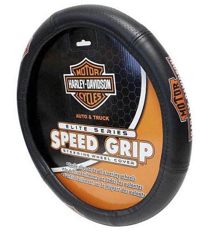 Harley-Davidson® Speed Grip™ Steering Wheel Cover   Classic Elite Series™