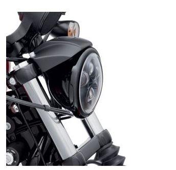 Harley-Davidson® Headlamp Trim Ring | Gloss Black
