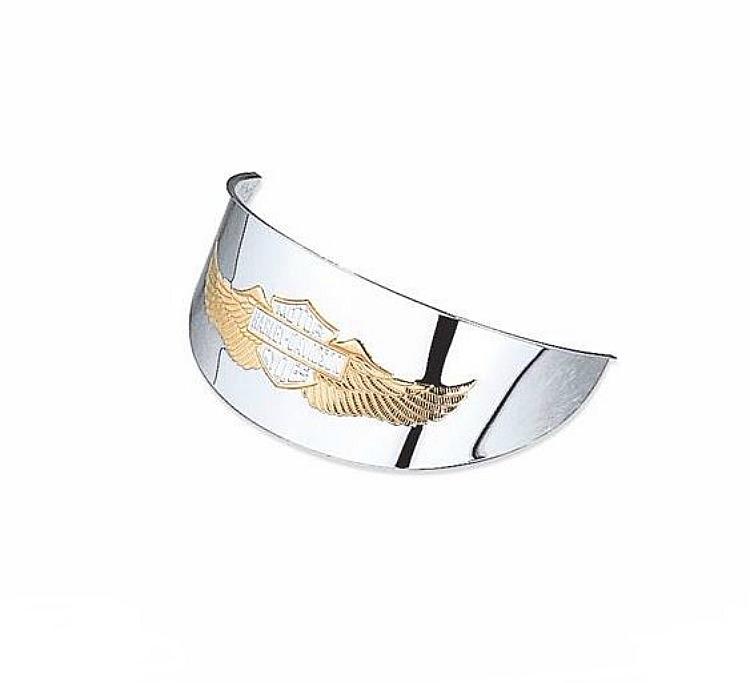 Harley-Davidson® Headlamp Visor | Eagle Wing | 5.75 Inch