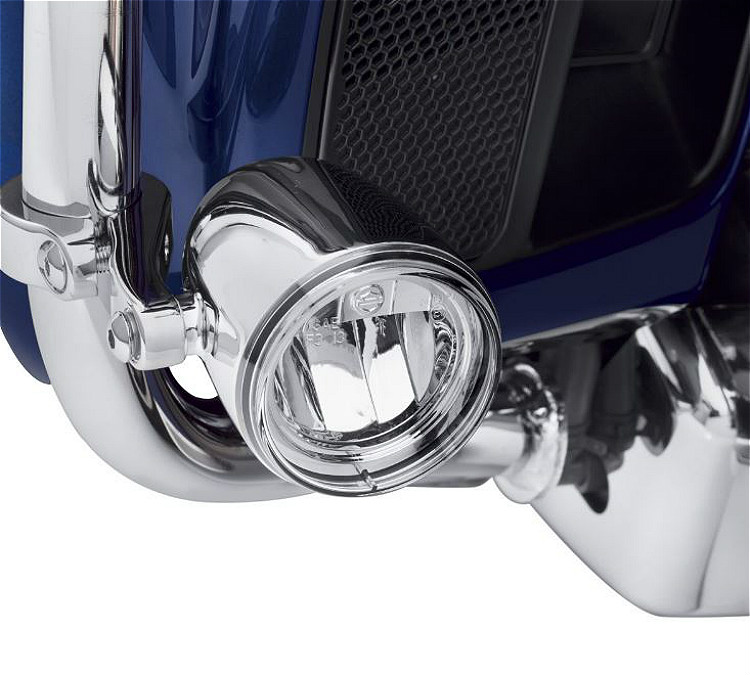 Harley-Davidson® Daymaker™ Reflector LED Fog Lamps | Chrome Housing