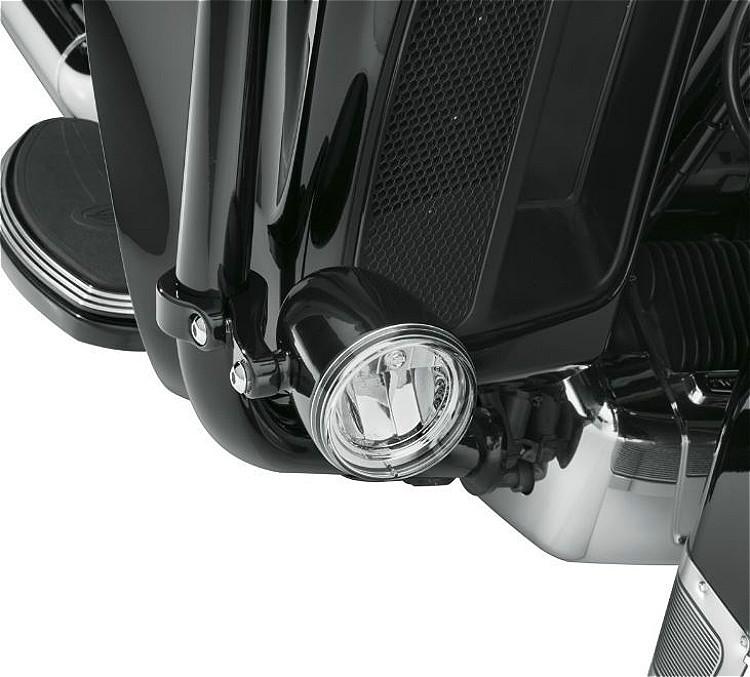 Harley-Davidson® Daymaker™ Reflector LED Fog Lamps | Gloss Black Housing