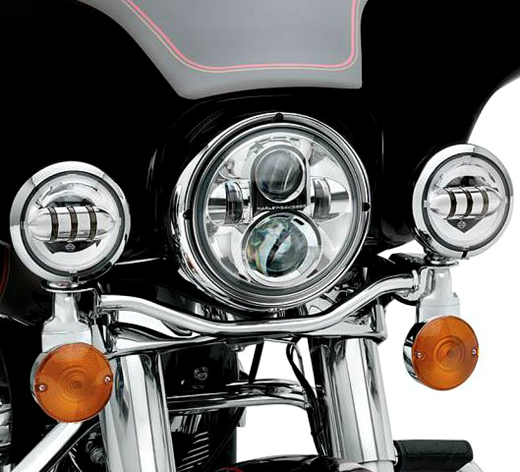 Harley-Davidson® 4 inch Daymaker™ Projector LED Auxiliary Lamps