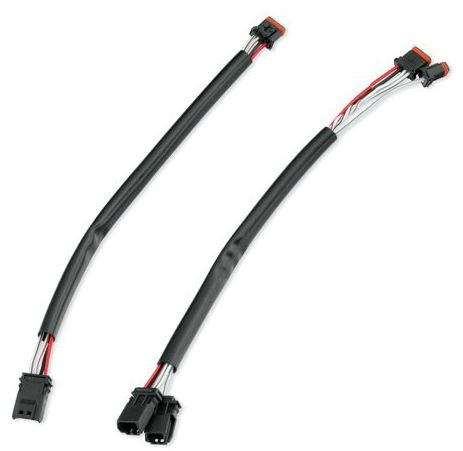 69200034 2 harley davidson� switch wire extension kit 69200034 harley davidson wiring harness extension at beritabola.co