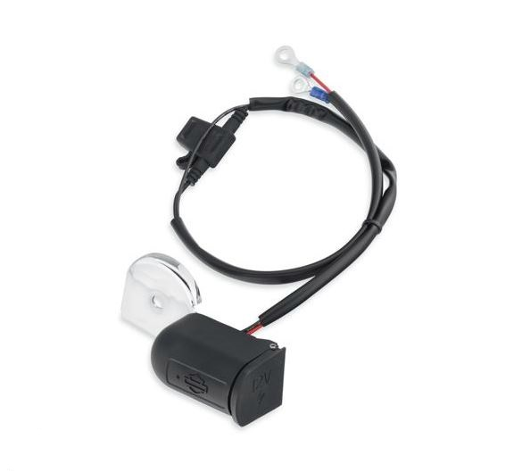 Harley-Davidson® Auxiliary Power Port - Horn Mount