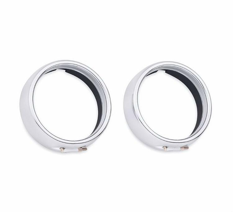 Harley-Davidson® Passing Lamp Trim Ring | Chrome