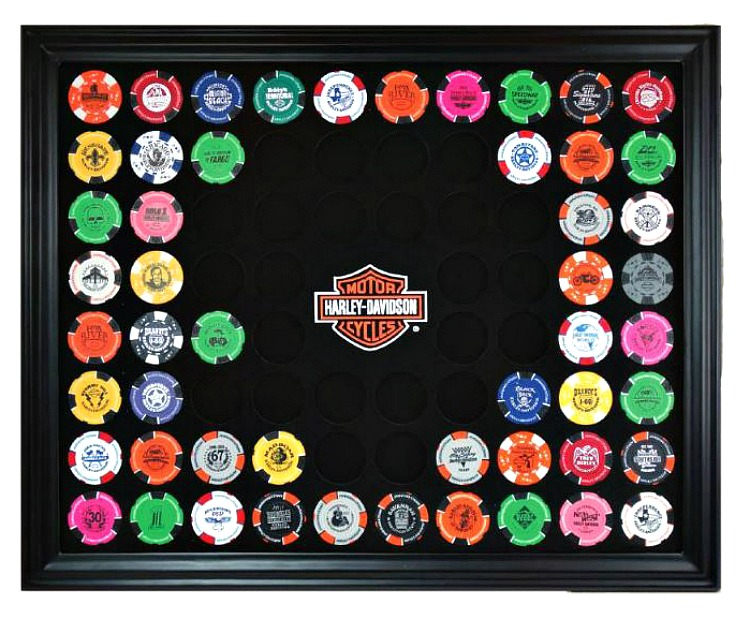Casino chip frame baseball gambling systems