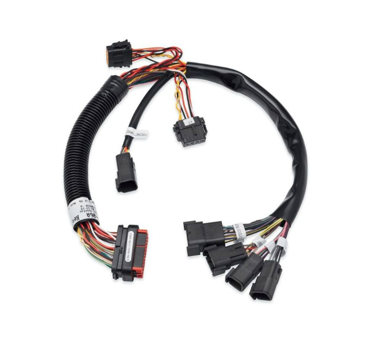 70169 06A_Main harley davidson� boom! audio system wiring harnesses 70169 06a harley davidson trailer wiring harness at alyssarenee.co