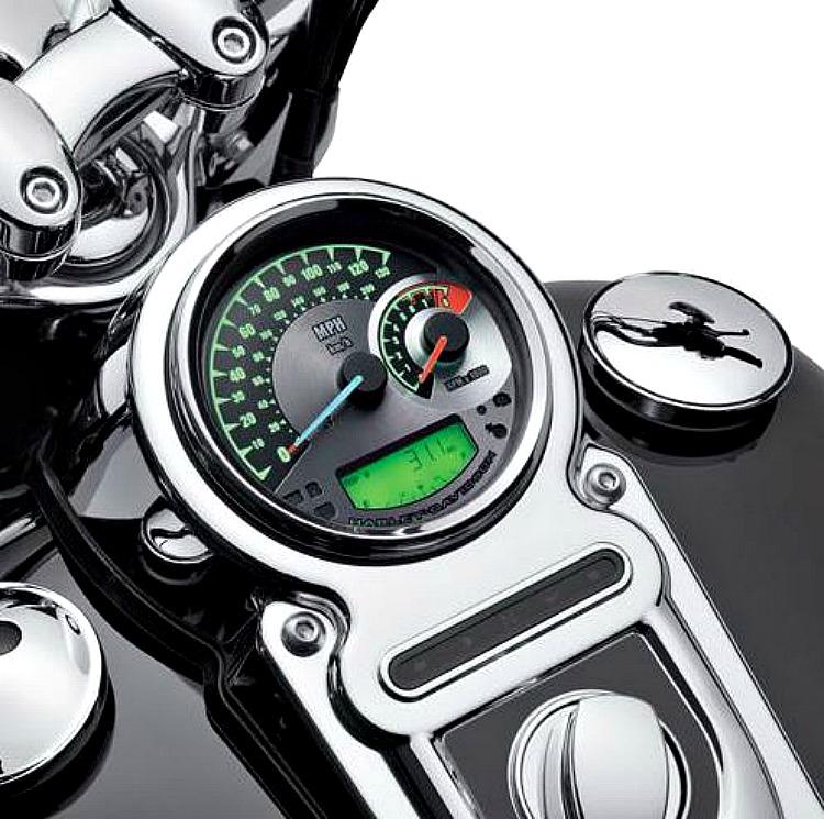 "Harley-Davidson® Combination Analog Speedometer/Tachometer MPH & km/h - 5"""
